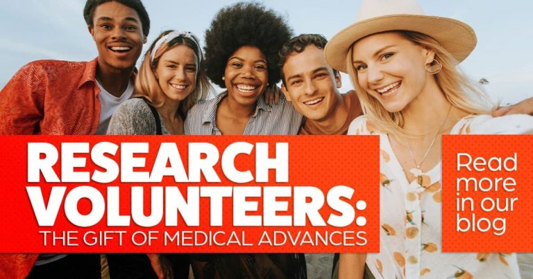 Research volunteers: the gift of medical advances