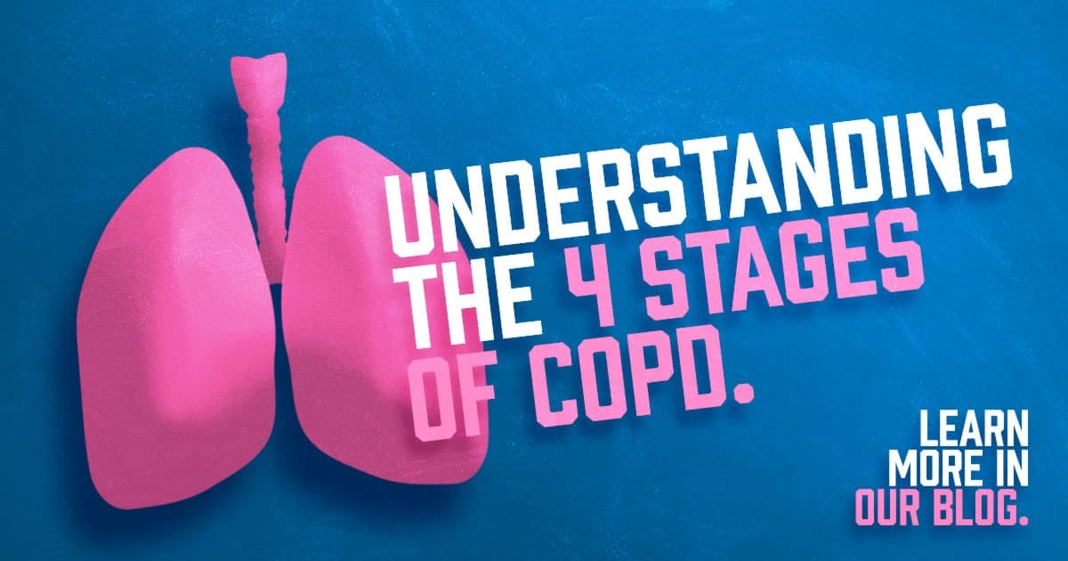 Understand the 4 stages of COPD